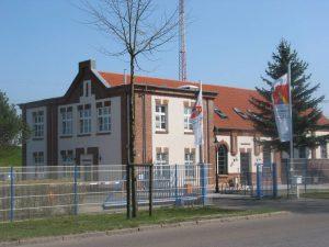Hauptgebäude der Stadtwerke Hagenow